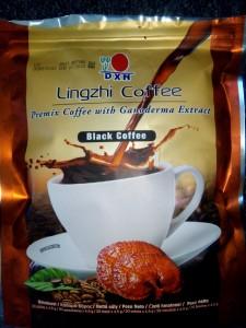 gesunder Kaffee mit Ganoderma für unterwegs